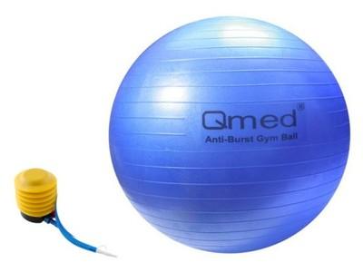 rehabilitacyjna piłka ortopedyczna marki Qmed z pompką