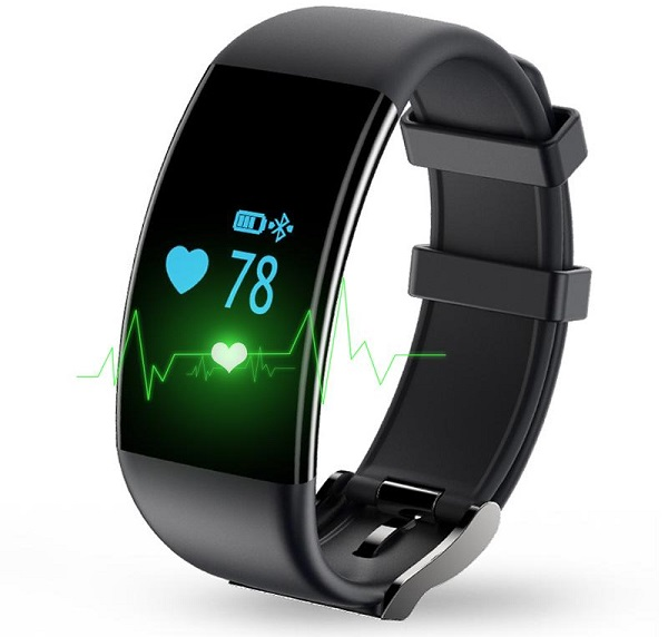 pulsometr do biegania - zegarek opaska na rękę